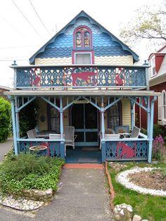 Martha's Vineyard Gingerbread Cottage