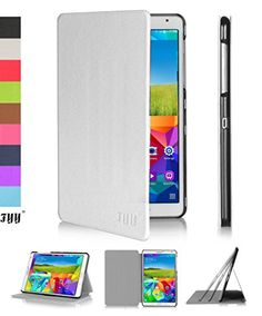 FYY® Ultra Slim Magnetic Smart Cover Case for Samsung Galaxy Tab S 8.4-Inch White (With Auto Wake/Sleep Feature) FYY