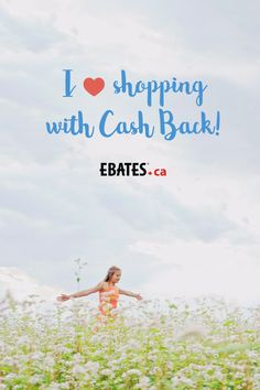 Love shopping? Ebates.ca pays you to shop online! It's the BEST! And they have over 750 stores like Sephora, Hudson's Bay, Microsoft, Staples & so many more!
