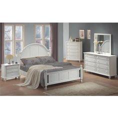 a64e648d6d4e2 Addison White Bedroom Set (Choose Size) in 2019