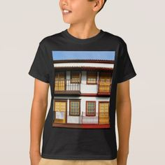 #Typical houses of Guimarães T-Shirt - #cool #kids #shirts #child #children #toddler #toddlers #kidsfashion