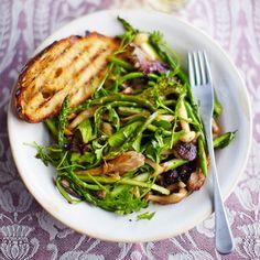 Asperge & padden-stoelensalade recept - Jamie magazine