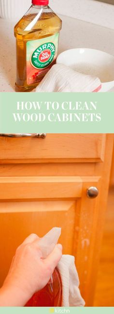 While Cleaning Maybe Isnu0027t Your Favorite Thing To Do In The Kitchen, This  Quick Tip On How To Clean Wood Kitchen Cabinets Is One That You Can Get  Excited ...