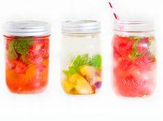 10 boissons fraiches et healthy à siroter tout l'été ! www.sweetandsour.fr // Tout savoir sur la detox water + recettes avec Charline du blog Godiche