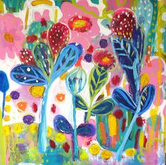 x Mixed Media on board. This painting is an original Artwork signed and dated by Saffron Craig. Fabric Painting, Textile Design, Original Artwork, Print Patterns, Mixed Media, My Arts, Creative, Artist, Prints