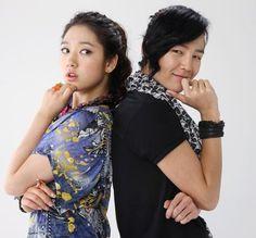 You're Beautiful! ♥ Jang Geun Suk as Hwang Tae Kyung ♥ Park Shin Hye as Go Mi Nam