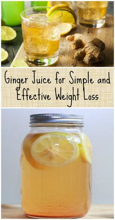 Ginger Juice for Simple and Effective Weight Loss