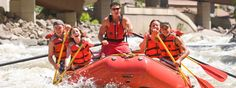 Vail Whitewater Rafting