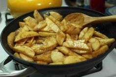 Cooked Apples. These are amazing on oatmeal. The previous pinner cooks them on the stove but I bake them and use the same ingredients although often I use splenda combined with a bit of brown sugar. Previous pinner: Stovetop..little bit of water or apple cider, sliced apples (honeycrisp are my favorite,) nutmeg, cinnamon, and stevia powder. Lowcal and bursting with fiber Enjoy!