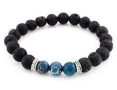 Rachel Lava Rock Bracelet (all colors)