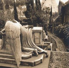 The grieving angel