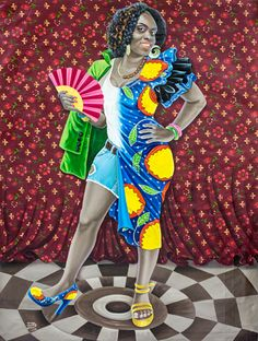 Online art gallery specialized in African contemporary art. The gallery is currently featuring painters from Democratic Republic of Congo. African American Artist, African Artists, Jamaica History, Comic Art Girls, Art Africain, Style Africain, Contemporary African Art, Contemporary Design, Mika