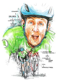 Bergankunft! Daniel Martin, Israel Start-Up Nation, gewinnt die 3. Etappe der 75. Vuelta a Espana 2020 (100x70cm) Cycling Art, Spin, Israel, Illustration, Room, Poster, Fictional Characters, Biking, Road Cycling