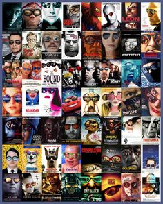 Movie posters cliches  http://christophecourtois.blogspot.com/search/label/cin%C3%A9ma