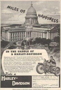 Old Harley ad