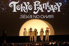 SEKAI NO OWARI - TOKYO FANTASY Pre-screening