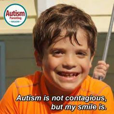 autism quote smile