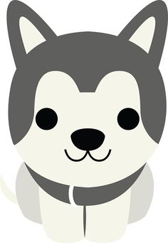 Siberian+Husky+Emoji+Happy+Smiling+Face