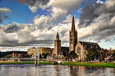 Inverness This city of 72,000 serves as the central hub of the Scottish Highlands. If you're going north, you're more than likely going here.