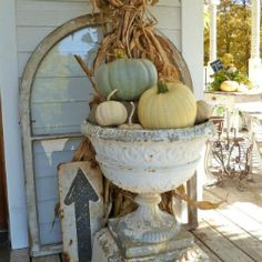 Thumbnail image for Decorating with Cornstalks