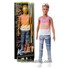 Barbie Fashionistas Ken Fashionistas Doll #15 Pineapple Tropical Vibes Ken Doll