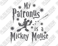 My patronus is a mickey mouse harry potter svg cut file set disney outfits, disney Disney Diy, Disney Crafts, Disney Trips, Harry Potter Stencils, Harry Potter Drawings, Mickey Mouse, Jar Art, Silhouette Cameo Projects, Cricut Creations