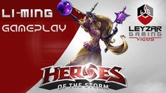 Heroes of the Storm Ranked Gameplay - Li-Ming Try Hard Mode, STRONG LANG...