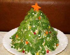 Салат Новорічна ялинка Christmas Baking, Winter Christmas, Xmas, Christmas Ornaments, Color Quotes, Antipasto, Seaweed Salad, Food Styling, Food Art