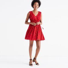 Magnolia Tie-Back Dress in Rosebud Scatter