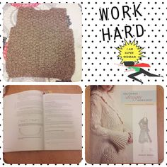 """27 Likes, 2 Comments - Eau de Tricot & Crochet (Rut) (@bafandegui) on Instagram: """"Ha sido mucho trabajo pero...¡lo conseguí!. No podía tener la lana para tejer un chaleco-jersey de…"""""""