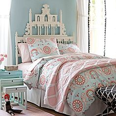 Annabel Duvet Cover & Sham #serenaandlily  linen colors to go with white shabby linens