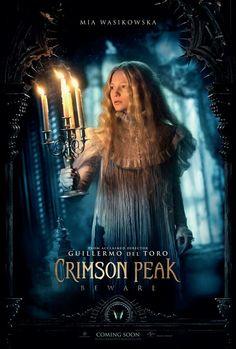 Crimson Peak, Como consecuencia de una tragedia familiar, una escritora es incapaz de elegir entre el amor de su amigo de la infancia y la tentación que representa un misterioso desconocido. En un intento por escapar de los fantasmas del pasado, se encuentra de pronto en una casa que respira, sangra… y recuerda