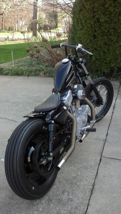 Sportster (Source: bikesandtattoos)
