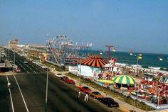 Asbury Park NJ in the 60's...u era at the boardwalk!!!