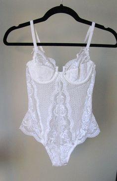 5f0d1915c1b71 La Perla Body Corset White Lace Body La Perla Corset