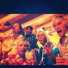 Terrifying blonde men :)