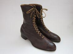 Antique Boots / Vintage 1910s Edwardian by TulleandTiaraVintage, $76.00
