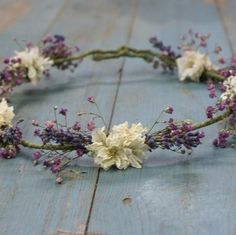 Lavender Twist Romance Hair Circlet