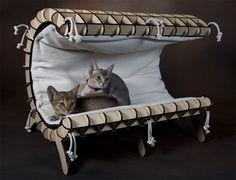 Luxury Cat Furniture from KittiCraft