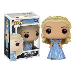 Disney Cinderella Live Action Movie Cinderella Pop! Vinyl Figure. No matter how old you are, some people never tire of the fairy tales and stories they grew up with. ...