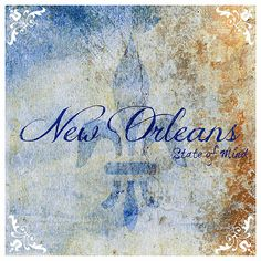 New Orleans State Of Mind Typography Photograph by Susan Bordelon - New Orleans State Of Mind Typography Fine Art Prints and Posters for Sale