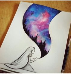 Cool Drawing Galaxy Painting Cool Drawings Disney Art Easy Drawings And Paintings Realistic Drawings And Colorful Paintings By Xane Asiamah Artsy Drawing Pictures Painting Drawings Or Painting At Paintingvalley Com…Read more of Drawings For Paint Art Sur Toile, Galaxy Art, Wow Art, Beautiful Drawings, Beautiful Images, Awesome Drawings, Art Drawings Easy, Simple Disney Drawings, Really Cool Drawings