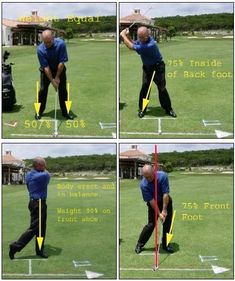 Balance and rhythm, or tempo, are necessary for a great golf swing. Here is how you should be balanced in four key swing positions.