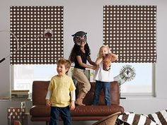 Cordless Roman Shades: Certified Best for Kids - As a family business, we take child safety very seriously. Learn more about our cordless control shades that are great for children's rooms.  | The Shade Store Blog