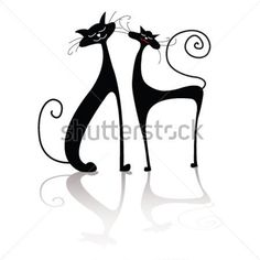 kočka silueta - Hledat Googlem