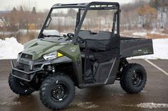 New 2016 Polaris RANGER ETX Sage Green ATVs For Sale in Wisconsin. 2016 Polaris RANGER ETX Sage Green, Amazing UTV For The Money 2016 Polaris® RANGER® ETX Sage Green Hardest Working Features ProStar® - Purpose Built for Work The RANGER ETX ProStar 31 hp engine is purpose built, tuned and designed around the demands of a hard day s work resulting in an optimal balance of smooth, reliable power to help you get the job done. Electronic Fuel Injection allows for dependable cold-weather…
