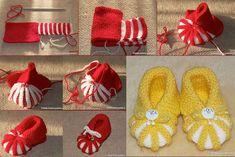 topánočky pletenie vzory