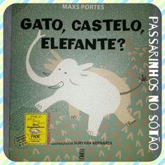 Gato, castelo, elefante...