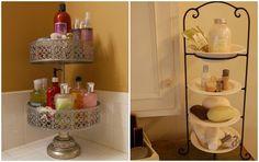 15 grandi idee per tenere sempre in ordine il vostro bagno