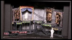 Come Look at the Freaks!! Loved running around on this gorgeous set. Side Show